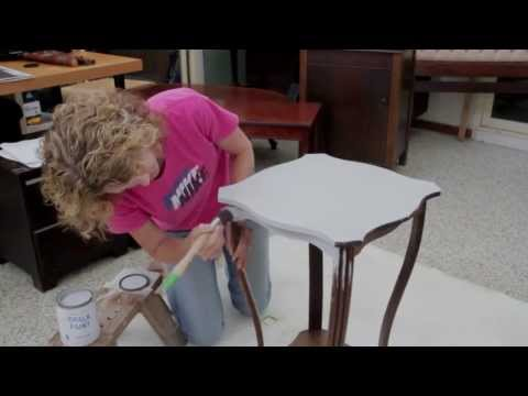 how to annie sloan chalk paint