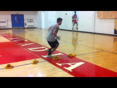 This Footwork Drill Goes Terribly Wrong