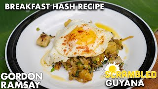 Gordon Ramsay Cooks A Breakfast Hash On The Edge Of The Amazon Jungle | Scrambled by Gordon Ramsay