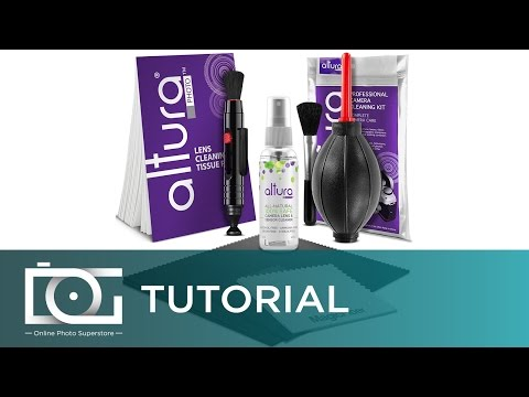 All-Natural Cleaner   Camera Cleaning Kit (Bundle)   100% Safe - Made in USA   By Altura Photo®
