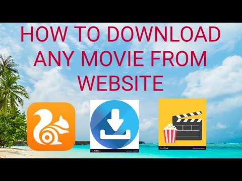 How to download any movie from website