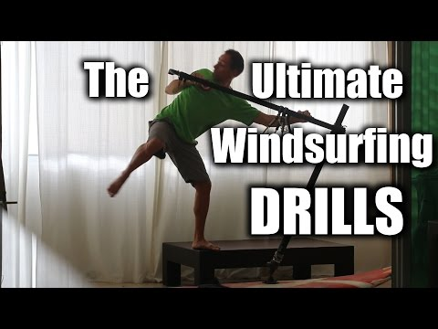 The Ultimate Windsurfing Drills – Jibes, Tacks, Clew First, Backwind & Front Loop