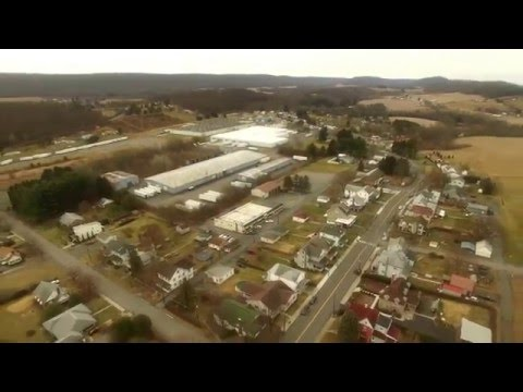 First flight with Phantom 3 over the Ringtown Valley, Pennsylvania
