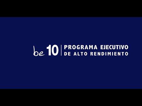 4 EDICI�N PROGRAMA EJECUTIVO DE ALTO RENDIMIENTO BE 10[;;;][;;;]
