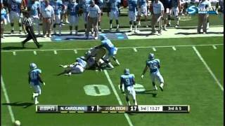 Stephen Hill vs UNC 2011