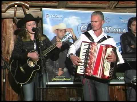 Canta viola sul RECORDA show da caravana canta viola sul em Pedras Grandes sc.2007.
