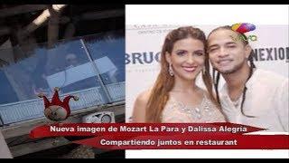 Nueva imagen de Mozart La Para y Dalias Alegría compartiendo juntos en Restaurante