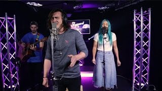 Aussie group Sheppard cover Justin Bieber's 'Love Yourself' live and acoustic at The Edge