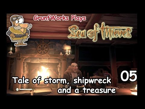 Tale of a Storm and Treasure | Sea of Thieves - Solo - 04 - Let's play