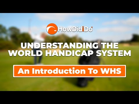 Episode 1: An introduction to World Handicap System | Understanding WHS with HowDidiDo