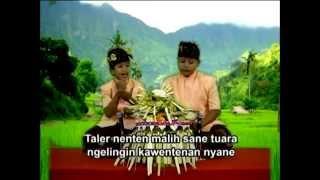 Geguritan (Alit-Alit Lanang) - Pupuh Maskumambang