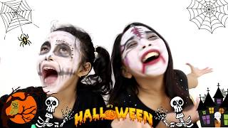 Video FUNNY HALLOWEEN MAKE UP CHALLENGE FOR KIDS ♥ FACE PAINT MP3, 3GP, MP4, WEBM, AVI, FLV Agustus 2018