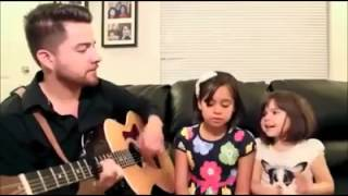 Video A Thousand Years - Christina Perri Cover Little girls sing with Daddy MP3, 3GP, MP4, WEBM, AVI, FLV Agustus 2018