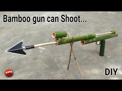 How to make a Bamboo gan that can real shoot.