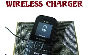 How to make wireless charger for any phone