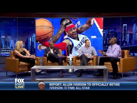 iverson - Original link: http://www.youtube.com/watch?v=onnqlWUERIc With Iverson's retirement looming Gary Payton shares the story and a priceless impression. The Stor...