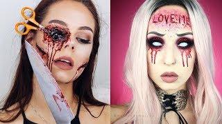 Top 10 Easy Halloween Makeup Tutorials Compilation 2018 | Monster Makeup