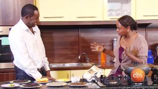 Giordana's kitchen show with coffee master Mr. Solomon - All about Coffee