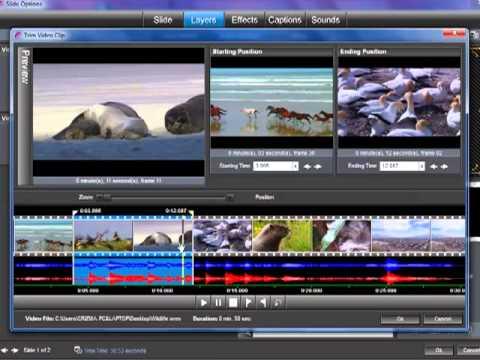 كيفية قص مقطع الفيديو ببرنامج البروشو