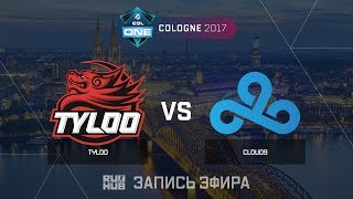 TyLoo vs Cloud9 - ESL One Cologne 2017 - de_cobblestone [yXo, Enkanis]