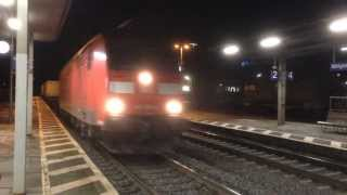 Konigswinter Germany  city photos gallery : Night Rail Freight Through Königswinter, Germany - 7th & 8th January, 2014