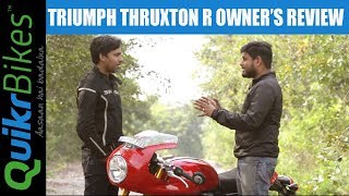 10. Triumph Thruxton R Long-Term Ownership Review