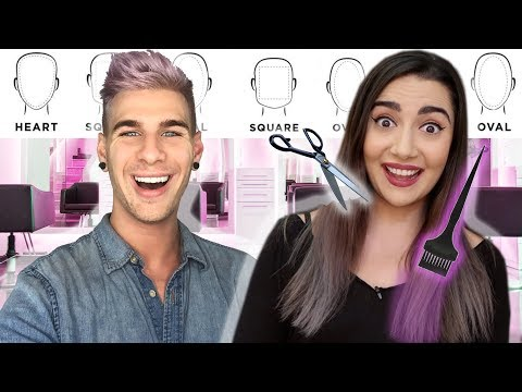 "I GAVE SAFIYA NYGAARD A ""PERFECT"" HAIR MAKEOVER BASED ON HER FEATURES: BTS! 