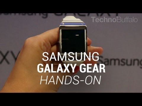 Samsung Galaxy Gear Hands On