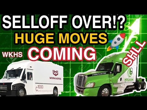 WORKHORSE STOCK, HYLIION STOCK HUGE MOVES COMING!? SHLL STOCK, LCA STOCK, DPHC STOCKS TO BUY NOW?