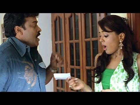 Jai Chiranjeeva Movie || Sameera Reddy Comedy Scenes || Back To Back Part 01