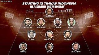 Video Wajah Lama Dan Baru Hiasi Timnas Indonesia, Inilah Komposisi Pemain RACIKAN SIMON MCMENEMY.!! MP3, 3GP, MP4, WEBM, AVI, FLV Mei 2019