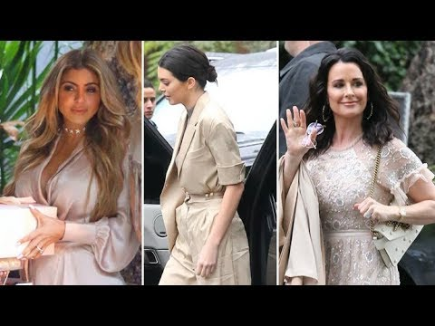 Kendall Jenner, Larsa Pippen, Malika Haqq And Kyle Richards Arrive At Khloe Kardashian's Baby Shower