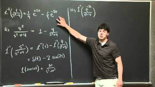 Partial Fractions And Laplace Inverse | MIT 18.03SC Differential Equations, Fall 2011