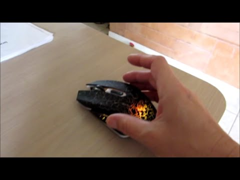 ShiRui Rechargeable Noiseless Wireless Optical Gaming Mouse