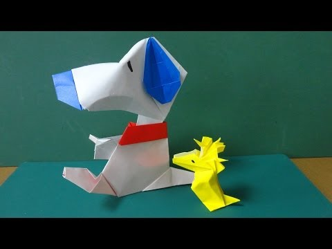 Animals Tutorial - 028 -- Dog (Snoopy Body)