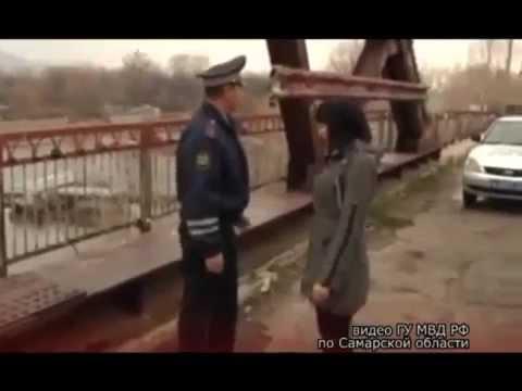 Самарского инспектора ДПС, который спас тонущую девушку, наградят (видео)