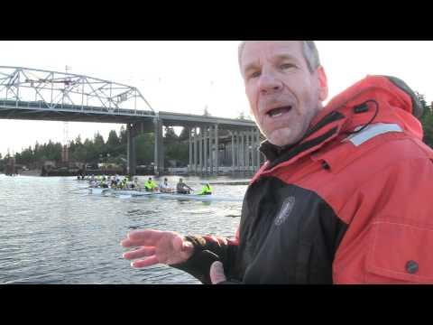 U-Dub Rowing on Montlake Cut