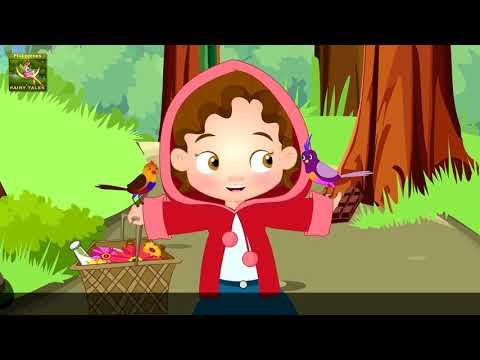 Si Little Red Riding Hood   kwentong pambata tagalog   Mga Karikatura   4K   Filipino Fairy Tales