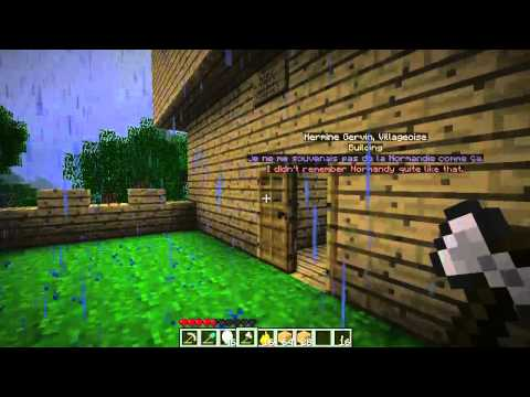 Minecraft Mod: Spider Queen Part 10 - Village Work