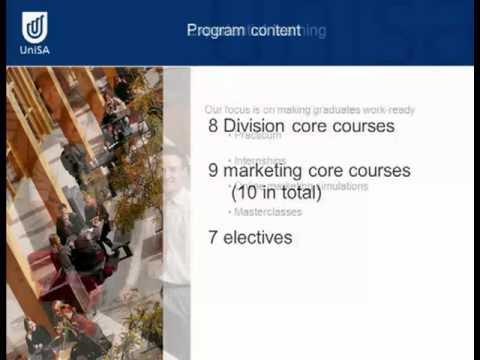 Marketing - Tag der offenen Tür 2011 - Universität von Süd Australia