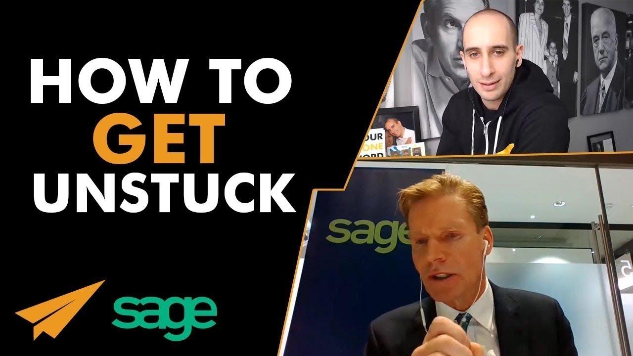 How to Get UNSTUCK - Evan & @SKellyCEO