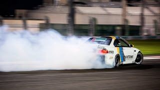 A high res 4K drift compilation video from yesterday's King Of Nations King Of Desert drift championship at Yas Marina Circuit, with LUKE FINK (E46 V10), Ali...