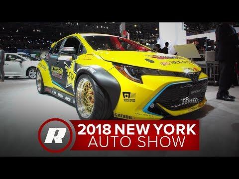 Fredric Aasbo Shows Off His 1 000 Hp 2019 Toyota Corolla Hatchback