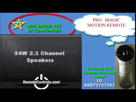 Review LG 4K Resolution Smart LED TV - 65LA9650, 55LA9650