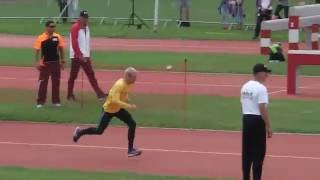 Obstacle Relay Sweden versus North Korea Military Pentathlon World Championships Austria 2016