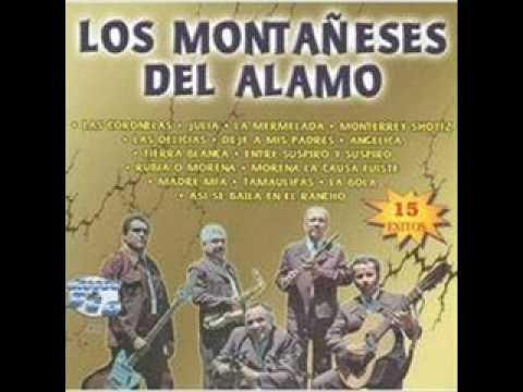 LOS MONTAÑESES DEL ALAMO - INDITA MIA