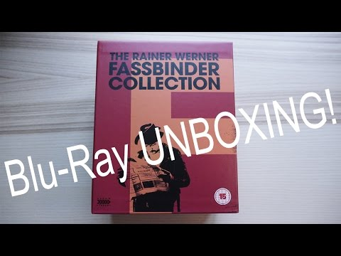 Fassbinder Collection Unboxing Video - Arrow Academy Blu-ray