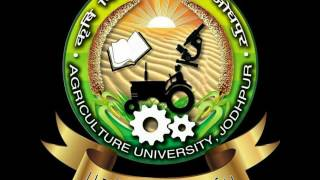 It is a theme song of agriculture university Jodhpur and its is sing by Neelam singh, it's written by student of this university Malaram, and music compose by OPV ...