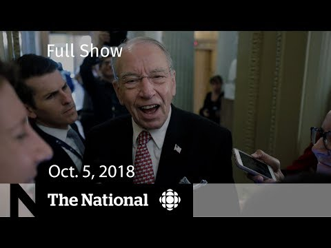The National for October 5, 2018