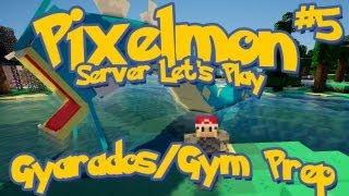 Pixelmon Server Minecraft Pokemon Mod Season 2: LittleLizard's Server, Episode 5 - Gyarados/Gym Prep
